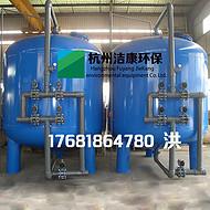 全自动PLC活性炭过滤器 炭滤器 水处理净化 炭滤罐 杭州洁康