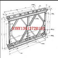 AYHY直销钢结构桥梁型钢 贝雷片专用8#工字钢10#槽钢