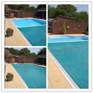 鹏睿仕泳池盖膜 游泳池保温覆盖系统 软膜防水 可承重
