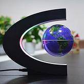 悬王C型3.5寸地球仪办公家居工艺品摆件新奇特高科技创意生日礼物