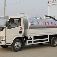 载货吸粪罐车-带货箱式粪罐车-载货抽粪车