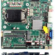 2千兆网口视频流媒体工控主板*DS6串口H110薄板