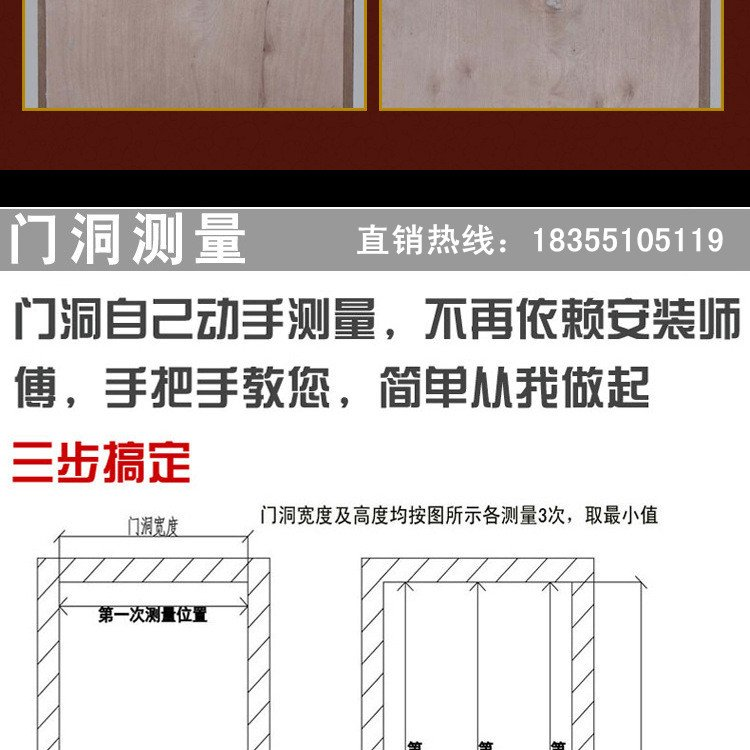 木质普通防火门3