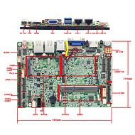 双千兆英特尔网口J1900工控主板10串口1900主板