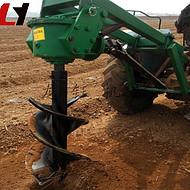 30HP植树挖坑打孔机价格质保果树植树挖坑机 加厚型园林植树挖坑机