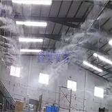 厂房喷雾降尘设备 车间抑尘降温加湿系统