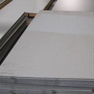 零度公司加工不锈钢花纹板、防滑板、压花板、蚀刻板、钛金板