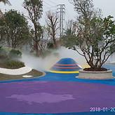 鑫奥喷雾XA40 户外喷雾造景设备 绿化雾森系统