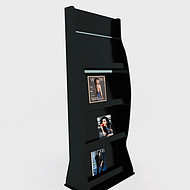 木质资料架定制户型图展示架A4资料架子宣传 专用展架