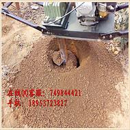 汇众机械厂家定做3.2马力混合油挖坑机