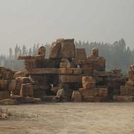 水泥塑石假山设计|鹤壁千层石假山厂家|斧劈石假山价格