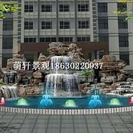 咸阳千层石假山厂家_斧劈石假山价格_水泥塑石假山设计