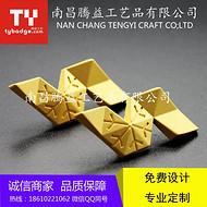 江西南昌徽章定制公司  南昌胸牌胸章纪念章奖牌定做找腾益