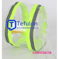 塑料法兰防飞溅保护罩 PVC法兰套 透明法兰保护罩