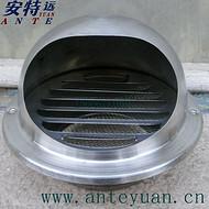 不锈钢室外防风帽,厨房卫生间 烟筒风口防虫,防老鼠
