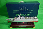中国护卫舰582蚌埠号导弹护卫舰模型静态056型护卫舰江岛级军模海军舰艇厂家批发
