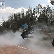新疆人造雾设备厂家 人造雾景观 人造雾景观设计 人工造雾工程