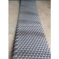 河北兆晟*普通菱形钢板网,铁板冲压网