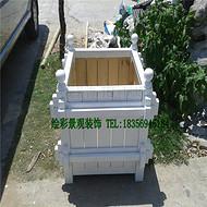 防腐木花箱木花盆定制订制户外花槽木盆树围树池移动花池花篮