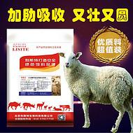 绵羊饲料  绵羊快速育肥预混料  利斯特-羊壮圆