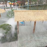 贵州超细水雾工程/高压超清水雾/人造水雾系统/造景降温新设备