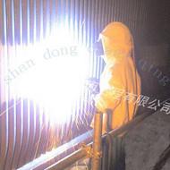 火力发电厂设备使用热喷涂技术防腐
