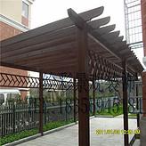 戶外葡萄架防腐木庭院碳化實木葡萄架涼亭葡萄架花架廊架室外雨棚
