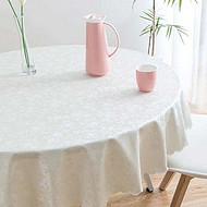 酒店家用PU欧式桌布防水免洗塑料布艺餐桌布台布