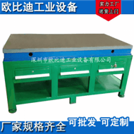 钳工车间工作台、铸铁模具台、钢板装配台