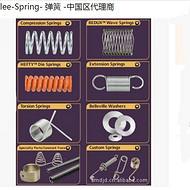 美国Lee spring 压缩弹簧 阿曼达代理商