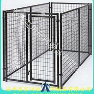 长期供应镀锌喷塑狗笼子-安装便捷的大型犬笼子