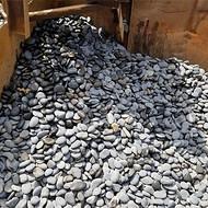 重庆鹅卵石价格_2-3cm天然黑色鹅卵石批发价格_渝荣顺矿产!