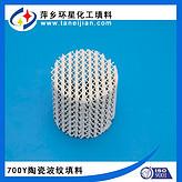 陶瓷波纹填料125Y型瓷质波纹规整填料陶瓷填料生产厂家