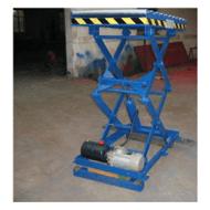 供应建筑维修货物举升固定式液压升降平台
