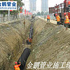 双壁波纹管在雨污工程安装中的技术说明_金鹏管业