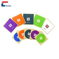 【工厂】无线射频NFC电子标签定制 ntag213芯片印刷标签 rfid贴纸