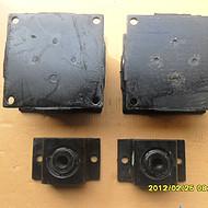 山推sr20减震器压路机钢轮减震块厂家低价销售263-83-30000