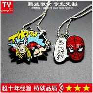 厂家定制金属吊牌钥匙扣-金属车标-金属礼品吊链、纪念章