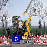四川省成都市金堂县大功率山地液压挖坑机专利产品*