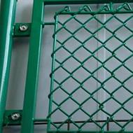 球场勾花网厂家供应养殖热镀锌铁丝网 活络网 包塑体育场护栏网 护坡菱形网