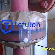 法兰防溅罩+耐酸碱法兰防喷溅罩+PTFE法兰护罩