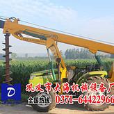 8米12米15米电线杆挖坑机专利产品*