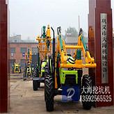 挖掘机改装吊车挖坑机专利产品*