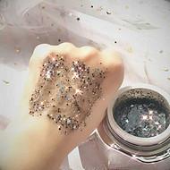 星空撕拉面膜补水保湿星星亮晶晶批发贴牌代加工化妆品半成品oem