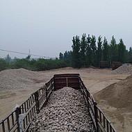 六安霍山县鹅卵石景观石河岸石水冲石溪坑石大卵石海浪石开采基地