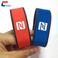 【厂家】景区一卡通M1芯片硅胶腕带 RFID智能射频识别腕带