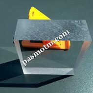 100毫米200毫米厚度耐高压透明材料聚碳酸酯板