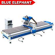 现货供应板式家具生产设备 全自动数控开料机 实木家具雕刻机 济南蓝象数控厂家