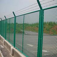 护栏网*轻轨工程防护网 公路护栏网 地铁隔离网