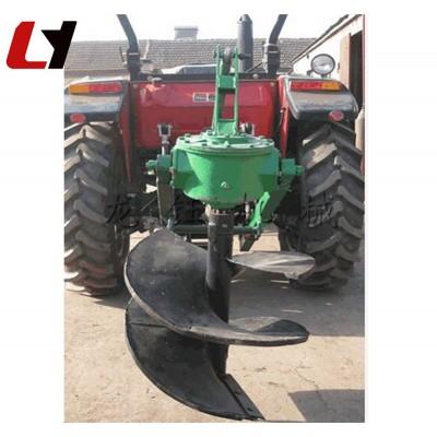 后置式挖坑机产品 高产量地钻挖坑机